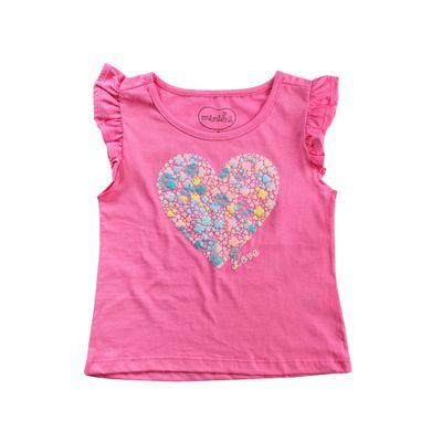 Camisa-Manga-Curta---Coracao-Puff---100--Algodao---Pink---Minimi---1