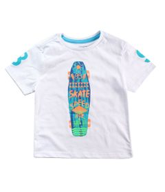 Camisa-Manga-Curta---Skate-Long---100--Algodao---Branco---Minimi---1