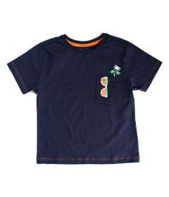 Camiseta-Infantil---Bolso-Estampado---100--Algodao---Azul-Marinho---Minimi---3