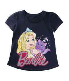 Camiseta-Manga-Curta---Barbie---Gatinha-Glitter---100--Algodao---Marinho---Barbie---8