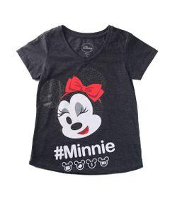 Camiseta-Manga-Curta---Decote-V---Minnie-Mouse---Algodao-e-Poliester---Vermelho---Disney---6