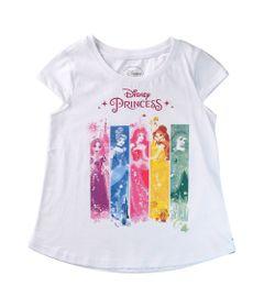 Camiseta-Manga-Curta---Princesas-Disney---100--Algodao---Branco---Disney---10