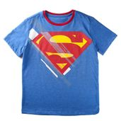 Camiseta-Manga-Curta---Superman---Algodao-e-Poliester---Azul---DC-Comics---4