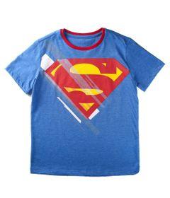 Camiseta-Manga-Curta---Superman---Algodao-e-Poliester---Azul---DC-Comics---8