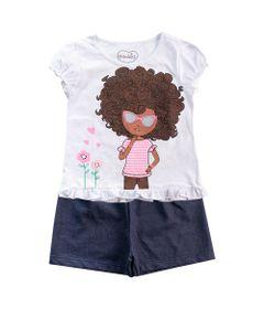 Conjunto-Infantil---Camisa-Estampada-e-Short---100--Algodao---Branco-e-Marinho---Minimi---3