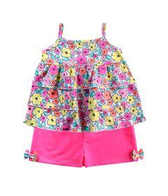 Conjunto-Infantil---Camisa-Estampada-e-Short---100--Algodao---Rosa---Minimi---2