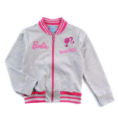 Jaqueta-Infantil---Barbie---Bomber-Glitter---Algodao-e-Poliester---Mescla---Barbie---4