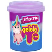 Pote-de-Slime---152-Gr---Gelele-Unicornio---3-Cores---Roxo-Branco-e-Azul---Doce-Brinquedo_Frente