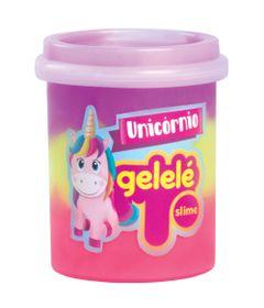 Pote-de-Slime---152-Gr---Gelele-Unicornio---3-Cores---Roxo-Pink-e-Amarelo---Doce-Brinquedo_Frente