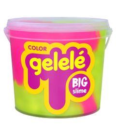 Balde-de-Slime---15-Kg---Gelele-Color---Pink-e-Amarelo---Doce-Brinquedo