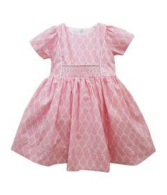 Vestido-Infantil---Casinha-de-Abelha---100--Algodao---Rosa---Turma-Mixirica---1