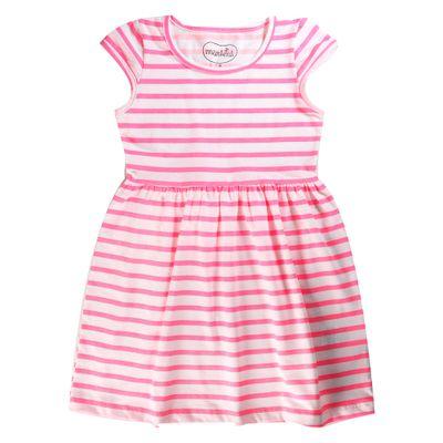 vestido-infantil-manga-curta-copinho-listrado-100--algodao-branco-e-rosa-minimi-1-501221_Frente