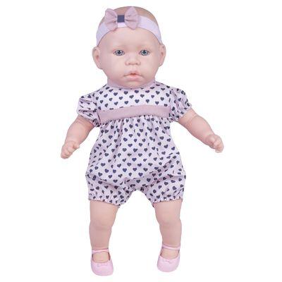 Boneca---44cm---My-Sweet-Baby---Vestido-Rosa-com-Coracoes---Cotiplas_Frente