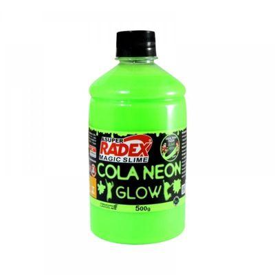 Acessorios-para-Slime-Cola-Neon-Glow-500-Gr-Verde-Radex-76793_frente