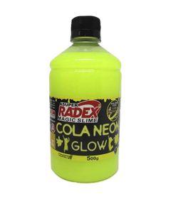 Acessorios-para-Slime-Cola-Neon-Glow-500-Gr-Amarelo-Radex-76793_frente