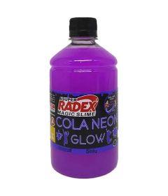 Acessorios-para-Slime-Cola-Neon-Glow-500-Gr-Roxo-Radex-76793_frente