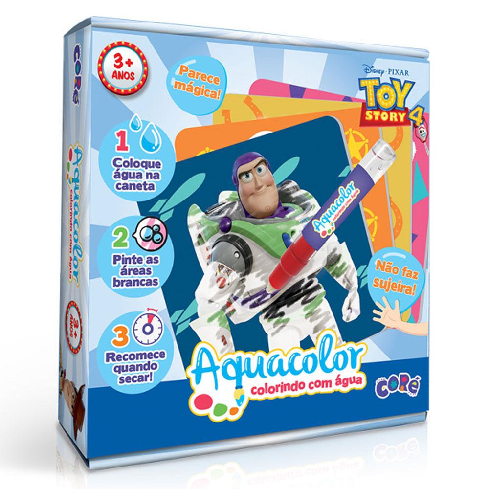 Conjunto - Maleta Aquacolor - Colorindo com Água - Disney - Toy Story 4 - Toyster