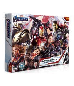 Quebra-Cabeca-Disney-Marvel-Vingadores-Ultimato-2000-Pecas-Toyster_Frente