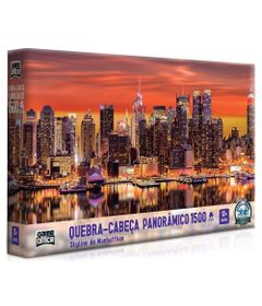 Quebra-Cabeca---1500-Pecas---Skyline-de-Manhatthan---Game-Office_Frente