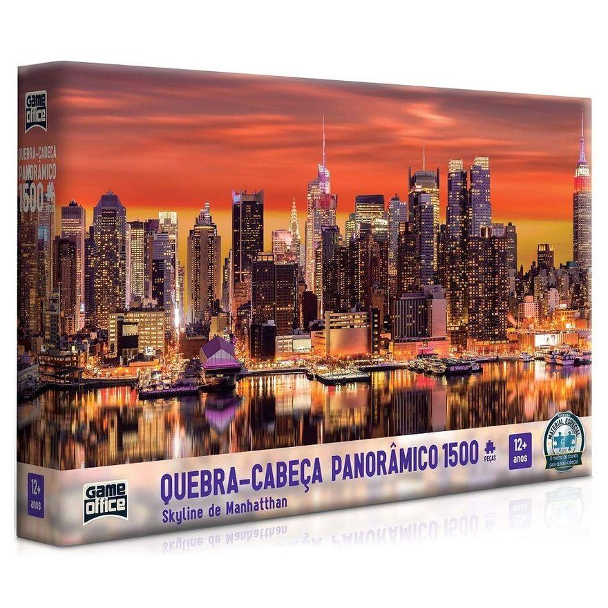 Quebra-Cabeca---1500-Pecas---Skyline-de-Manhatthan---Game-Office_Frente