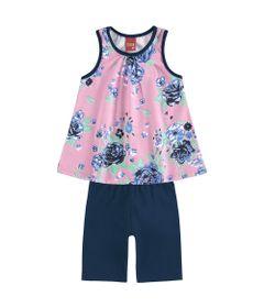 conjunto-blusa-e-bermuda-ciclista-em-meia-malha-e-cotton-flores-rosa-kyly-109491-6826-1_Frente