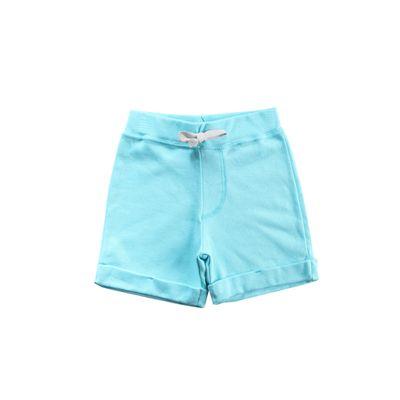 Bermuda-Infantil-com-Barra-Dobrada---100--Algodao---Azul---Minimi---1
