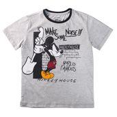 Camiseta-Manga-Curta---Mickey-Mouse---Algodao-e-Poliester---Cinza---Disney---4