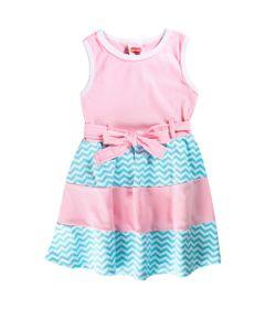 Vestido-Infantil---Estampado---Sem-Manga---100--Algodao---Rosa---Minimi---1