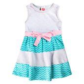 Vestido-Infantil---Estampado---Sem-Manga---Algodao-e-Poliester---Mescla---Minimi---1