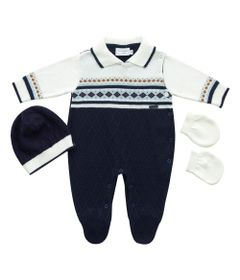 macacao-infantil-jacquard-losangos-malha-azul-marinho-noruega-rn-120.360_Frente