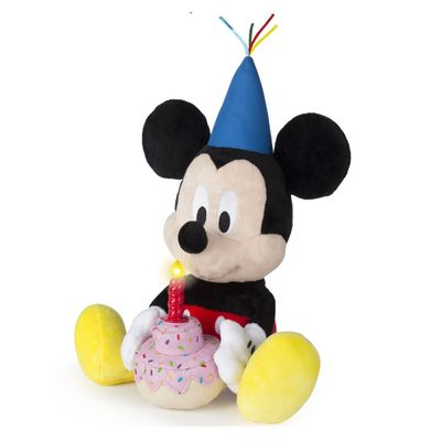 Pelucia-com-Sons---30Cm---Disney---Mickey-Mouse---Mickey-Happy-Birthday---Multikids