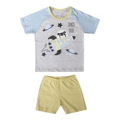 pijama-infantil-camisa-manga-curta-e-short-cachorro-algodao-e-poliester-azul-e-amarelo-minimi-4-61290004_Frente