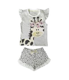 pijama-infantil-camisa-manga-curta-girafa-algodao-e-poliester-mescla-e-bege-minimi-3-60290004_Frente