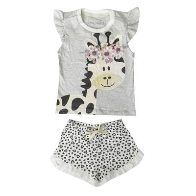 pijama-infantil-camisa-manga-curta-girafa-algodao-e-poliester-mescla-e-bege-minimi-1-60290004_Frente