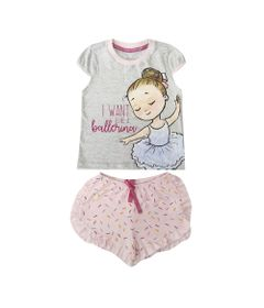 pijama-infantil-camisa-manga-curta-e-short-bailarina-algodao-e-poliester-mescla-e-rosa-minimi-3-60290001_Frente