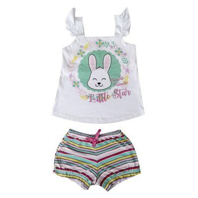 pijama-infantil-camisa-manga-curta-coelho-100-algodao-branco-e-listra-minimi-1-60290005_Frente