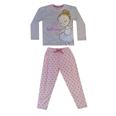 pijama-infantil-camisa-manga-longa-e-calca-bailarina-algodao-e-poliester-mescla-e-rosa-minimi-1-40290001_Frente