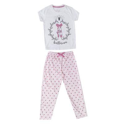pijama-infantil-camisa-manga-curta-e-calca-ballet-100-algodao-branco-e-rosa-minimi-4-24290002_Frente
