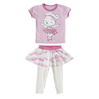 pijama-infantil-camisa-manga-curta-bailarina-100-algodao-rosa-e-bege-minimi-1-40290002_Frente