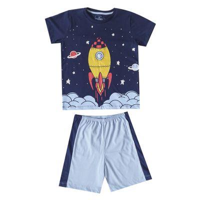 pijama-infantil-camisa-manga-curta-foguete-e-short-recorte-100-algodao-azul-marinho-e-azul-claro-minimi-4-59290003_Frente