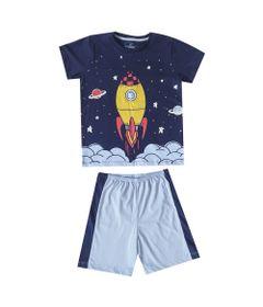 pijama-infantil-camisa-manga-curta-foguete-e-short-recorte-100-algodao-azul-marinho-e-azul-claro-minimi-6-59290003_Frente