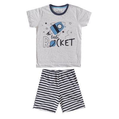 pijama-infantil-camisa-manga-curta-e-short-listrado-foguete-algodao-e-poliester-mescla-e-listrado-marinho-minimi-8-52290001_Frente
