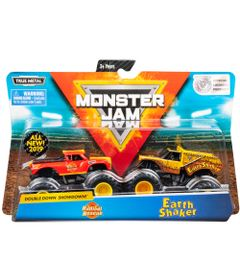 conjunto-de-veiculos-escala-1-64-monster-jam-radical-rescue-e-earth-shaker-sunny-2020_Embalagem
