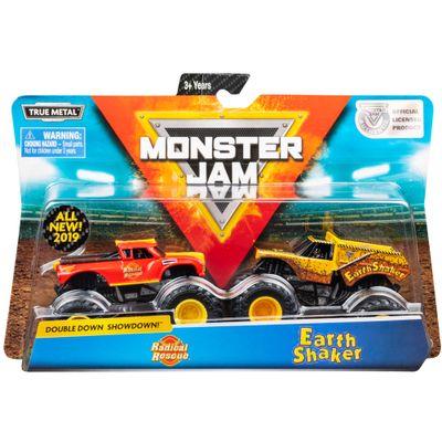 conjunto-de-veiculos-escala-1-64-monster-jam-radical-rescue-e-earth-shaker-sunny-2020_Embalagem