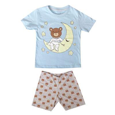 pijama-infantil-camisa-manga-curta-urso-astronauta-algodao-e-poliester-azul-e-mescla-minimi-2-61290001_Frente