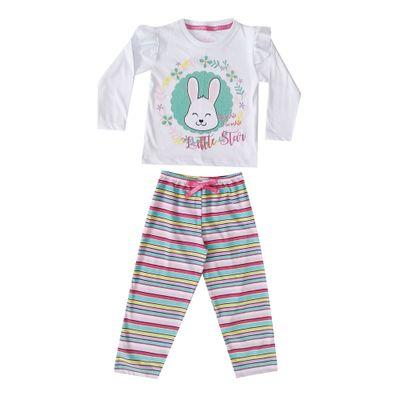 pijama-infantil-camisa-manga-longa-coelho-100-algodao-branco-e-listrado-colorido-minimi-1-40290005_Frente