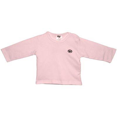 Camiseta-Basica-Manga-Longa-em-Suedine---Rosa_Frente