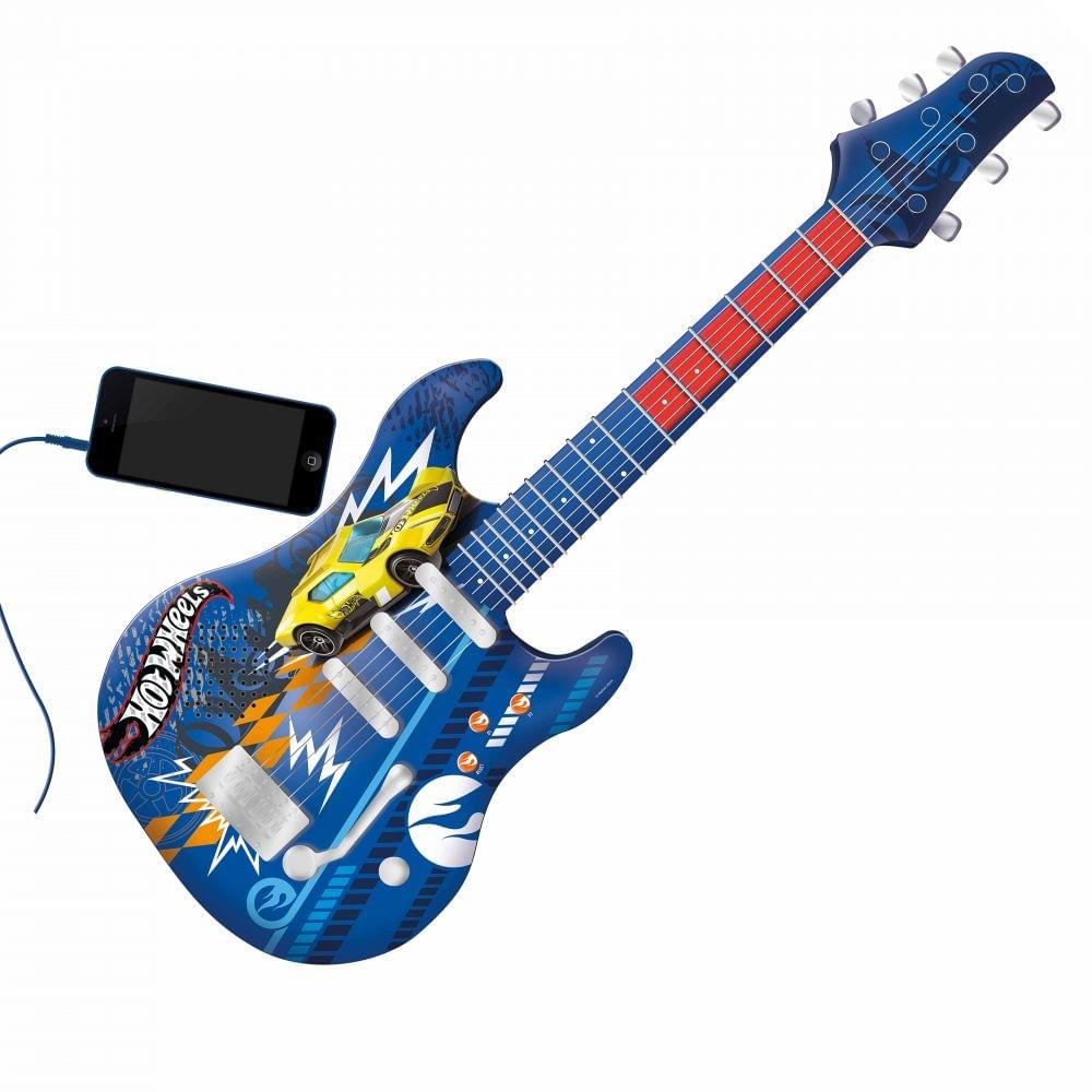Guitarra Infantil - Hot Wheels - Azul - Fun