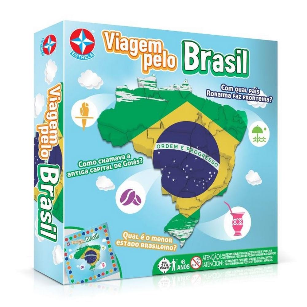 Jogo - Viagem Pelo Brasil - Estrela