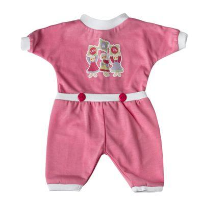 roupa-para-bonecas-pijama-rosa-pink-tam.-g-laco-de-fita-6013_Frente